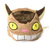 龍貓TOTORO 貓公車 刺繡毛絨束口袋 收納包 旅行包 外出包 宮崎駿 吉卜力 里和家居