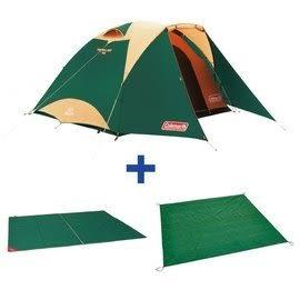 【早點名露營生活館】ColemanTOUGH圓頂3025帳篷套組-綠 CM-27279M000