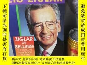 二手書博民逛書店ZIGLAR罕見ON SELLING 20.5X13CMY277653 ZIG NY 出版1991