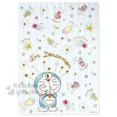 〔小禮堂〕哆啦A 夢日製墊板《B5 藍透明條文星星》學童文具4548626 08093