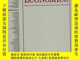 二手書博民逛書店LABOUR罕見ECONOMICS 2019年1月 英文版Y42402