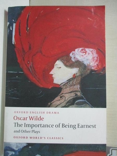 【書寶二手書T1/藝術_DAD】The Importance of Being...-Lady Windermeres..._Wilde