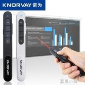 諾為ppt翻頁筆 激光遙控筆多媒體教學電子筆教鞭可充電投影筆QM 藍嵐小鋪
