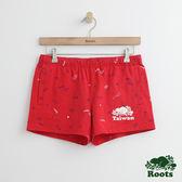 Roots - 女裝 - 台灣國慶系列休閒短褲 - 紅色