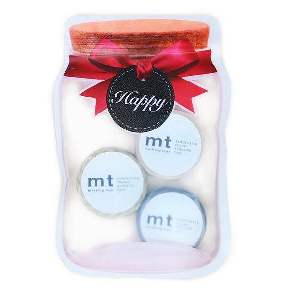 日本mt Masking Tape糖果罐包裝三入組 棕色組
