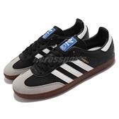 adidas 休閒鞋 Samba Vegan 白 黑 男鞋 金標 復古 三葉草 愛迪達 【ACS】 FX9042