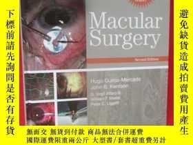 二手書博民逛書店Macular罕見Surgery (硬精裝) 【詳見圖】Y546