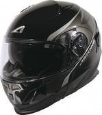 [中壢安信]法國 ASTONE RT1000 AB2 黑灰 全罩式 可掀式 安全帽 可樂帽 內置墨片 下巴可掀