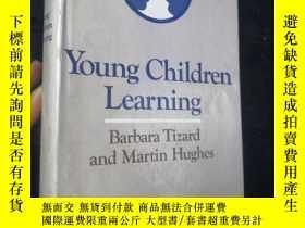 二手書博民逛書店Young罕見Children Learning(幼兒教育)大32開本Y9636 Barbara Tizard