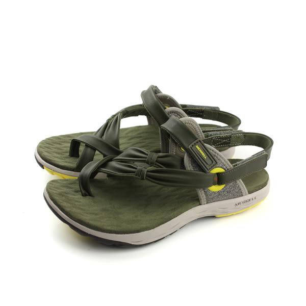MERRELL  VESPER CONVERTIBLE 涼鞋 墨綠色 女鞋 no813
