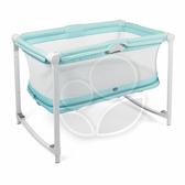 Chicco Zip & Go可攜式兩段嬰兒搖床 - 冰湖藍【佳兒園婦幼館】