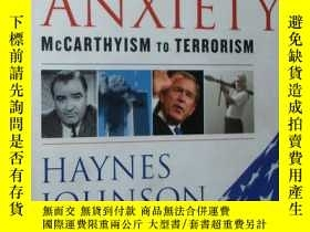 二手書博民逛書店◇英文原版書罕見The Age of Anxiety: McCa