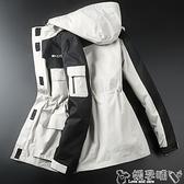 登山服 沖鋒衣女潮牌韓國三合一可拆卸兩件套防水登山滑雪服外貿防風外套嬡孕哺 618購物