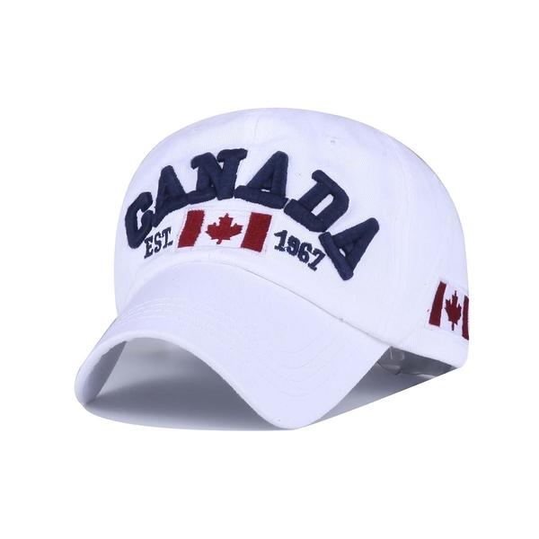 FIND 韓國品牌棒球帽 男女情侶 時尚街頭潮流 CANADA加拿大字母刺繡 帽