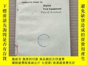 二手書博民逛書店complete罕見guide to digital test equipment(P399)Y173412
