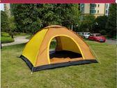 帳篷  帳篷戶外3-4人全自動家庭加厚防雨雙人2單人露營野營野外二室一廳 igo  非凡小鋪