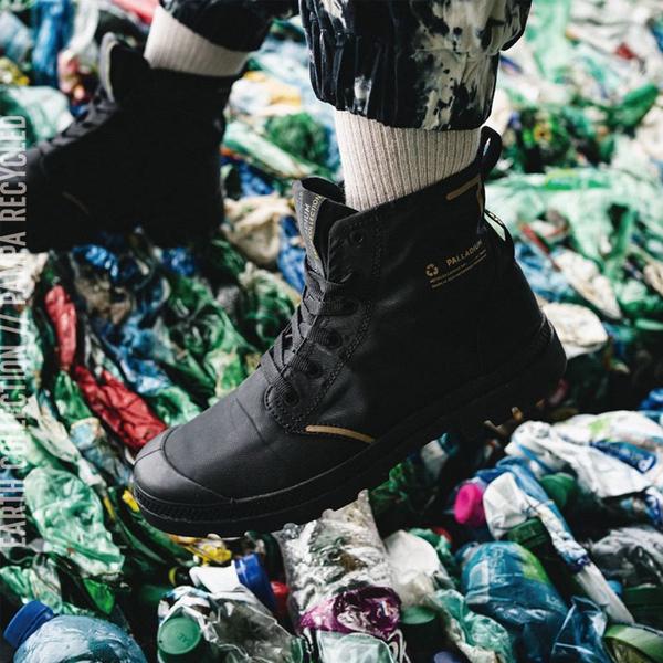 Palladium Pampa Lite 黑色 尼龍 防水 高筒 休閒鞋 男女款 NO.B1430【新竹皇家 76656-001】