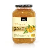 韓國綠茶園蜂蜜柚子茶1Kg [KR334191] 千御國際 (超取限購3罐)