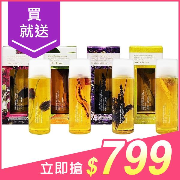 Linden Leaves 玫瑰/橙花/薰衣草/柑橘 身體按摩保養油(250ml) 款式可選【小三美日】※禁空運$960