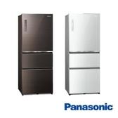 Panasonic 國際牌 ECONAVI 500L三門一級能變頻電冰箱(全平面無邊框玻璃) NR-C501XGS-含基本安裝