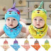 童帽 童趣 防寒帽 小熊帽 KIDS 二件套 帽子+領巾 五色 寶貝童衣