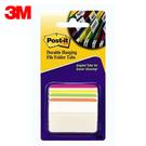 3M 利貼可再貼超厚材質標籤 686A-1BB 四色 / 包