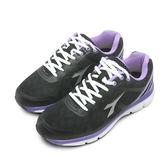 LIKA夢 DIADORA 迪亞多那 專業輕量避震慢跑鞋 戰狼傳說系列 黑紫 5510 女