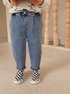 棉小班童裝男童牛仔褲2020秋季新款寶寶加絨彈力褲子兒童休閒長褲艾瑞斯