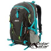 【PolarStar】透氣網架背包 40L『黑色』P19804 多隔間.登山背包.後背包.肩背包.手提包.行李包