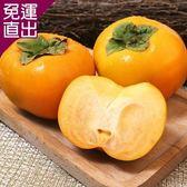 愛上水果 摩天嶺高山甜柿6顆禮盒裝*1盒(約300g/顆)【免運直出】