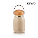 kinyo KIM-31W 不鏽鋼隨行保溫杯320ML-白-生活工場