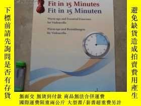 二手書博民逛書店Fit罕見in 15 Minutes   Fit in 15 M