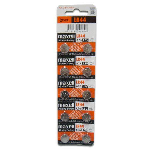 《鉦泰生活館》maxell 1.5V鈕釦型電池 10入/組 GP-LR44
