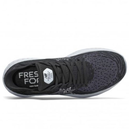 New Balance 寬楦 女鞋 慢跑 針織 輕量 高緩震 Fresh Foam X 黑【運動世界】W1080K10