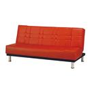 【采桔家居】羅哥瑟  時尚皮革沙發/沙發床(展開式椅身調整設計)