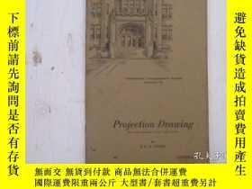 二手書博民逛書店民國:Projection罕見Drawing【USA】 房屋工程建造系列Y23766