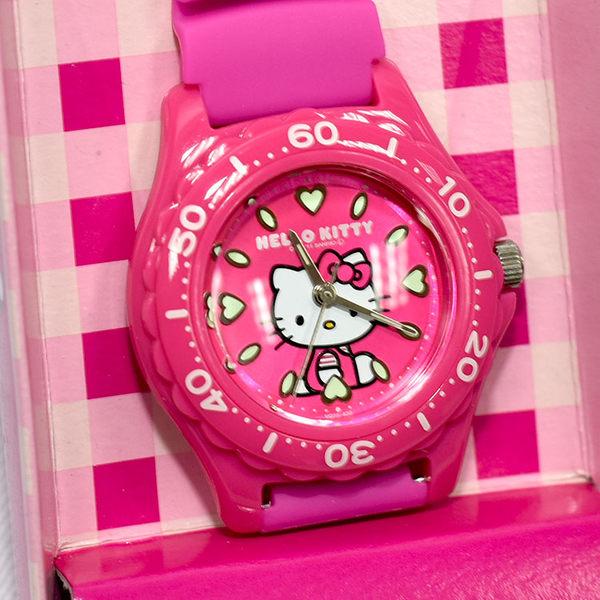 Hello Kitty CITIZEN 粉色粉底 星辰錶 氣壓防水指針式手錶 日本限定 附精美禮盒