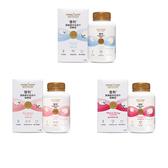 雪利頂級綿羊乳鈣片咀嚼錠,90錠/瓶,三種口味(香草、綜合莓果、草莓)
