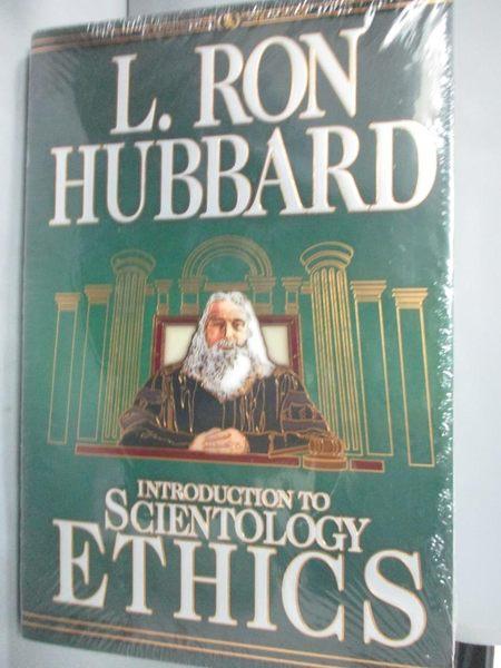 【書寶二手書T4/科學_YJL】Introduction to Scientology Ethics_L. Ron Hu