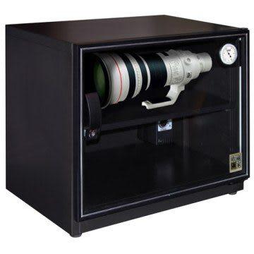 弘瀚科技防潮櫃@收藏家80公升可控濕全功能電子防潮箱 AW-80