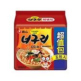 韓國 農心 香辣海鮮烏龍麵(5入超值包) 包裝隨機出貨【小三美日】