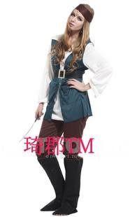 COS服裝萬聖節舞會女海盜服裝