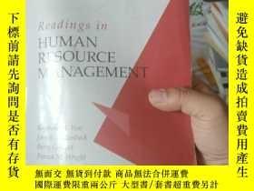 二手書博民逛書店Human罕見Resource Management(人力資源管