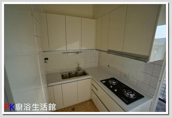 ❤ PK廚浴生活館 ❤ 高雄 流理台 廚具 上下櫃流理台 LG台面 白鐵桶身 水晶門板 電器櫃※實體店面