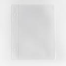【BlueCat】迷你文件夾 3孔活頁 磨砂 單格收納袋 (C8) 一入