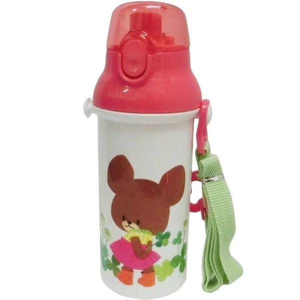 日本 SKATER 兒童直飲式水壺 480ml - 小熊學校傑克熊