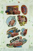 【震撼精品百貨】汽車總動員_Cars~貼紙組-C