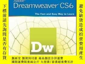 二手書博民逛書店Teach罕見Yourself VISUALLY Adobe Dreamweaver CS6Y410016 J