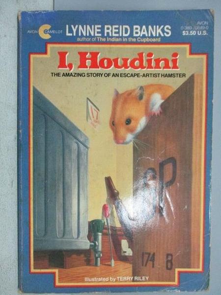 【書寶二手書T3/原文小說_MEI】I, Houdini_Lynne Reid Banks