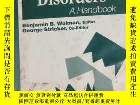 二手書博民逛書店Anxiety罕見and Related Disorders 看